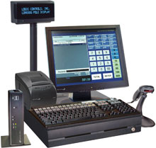 Logic Controls LC86BL-F103X-0 Point of Sale System