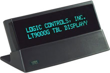 Logic Controls TD3000UP-BK Customer Display