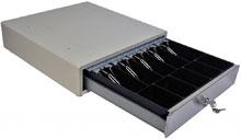 M-S Cash Drawer SP-103N-M-W-EPS-NO