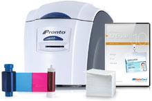 Magicard PRONTO-SINGLE-SIDE-SYSTEM ID Card Printer System