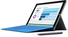 Microsoft Surface Pro 3 Tablet Computer