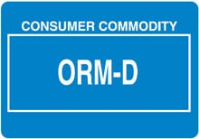 Photo of Other Regulated Material ORM-D