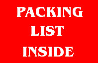Packing F11 Shipping Label
