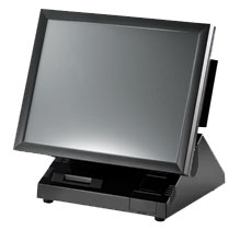 PartnerTech 69151WE-MSR POS Touch Terminal
