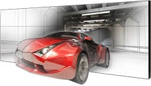 Planar Clarity Matrix 3D Digital Signage Display