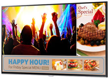 Samsung SMART Signage TV Digital Signage Display