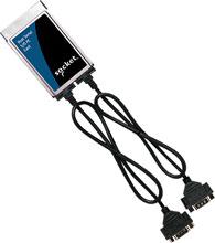 Photo of Socket Dual Serial I/O PC Card - Ruggedized