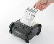 Toshiba B-EP4DL-GH40-QM-R Portable Barcode Printer