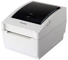 Toshiba B-EV4T-TS14-QM-R Barcode Label Printer