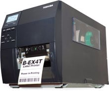 Toshiba BEX4T1GS12S02 Barcode Label Printer