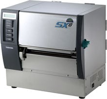 Toshiba B-SX8T Barcode Label Printer