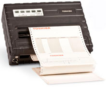 Toshiba MD-480I-MS10-QM-R Barcode Label Printer