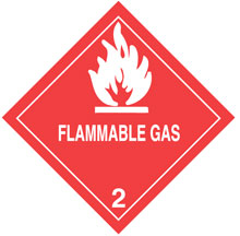 Photo of Warning Flammable Gas