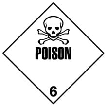 Photo of Warning Poison