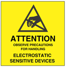 Photo of Warning Observe Precautions for Handling