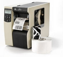 Zebra 112-806-00000 Barcode Label Printer