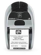 Zebra iMZ220 Portable Printer