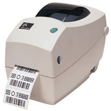 Zebra TLP 2824-Z Barcode Label Printer