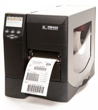 Zebra ZM400-3011-1100T Barcode Label Printer