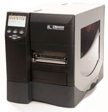 Zebra ZM400-3501-4000T Barcode Label Printer