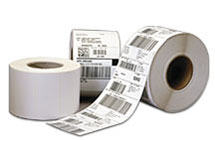 polyester art barcode labels